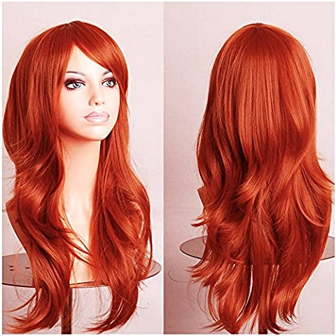 S-noilite UK Long Layer Full Head Wig Cosplay Party Fancy