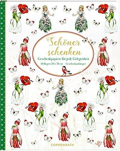 Preisvergleich Produktbild Geschenkpapier-Buch - Schöner Schenken (Blumenkinder): Geschenkpapiere für jede Gelegenheit