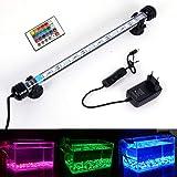 MLJ Acuario LED Iluminación, Iluminación LED para Acuarios Plantados Lámpara LED para Peceras Resistente al Agua Luz para (De
