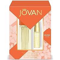 Jovan Musk Pack Femme Eau de Cologne Naturelle Spray 100 ml + Eau de Cologne Naturel Spray 15 ml