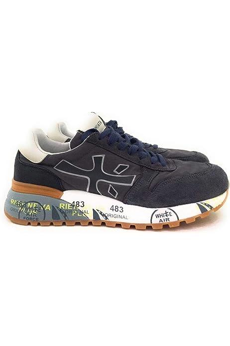 PREMIATA Hombre Zapatillas de Gimnasia Azul Size: 39 EU: Amazon.es: Zapatos y complementos