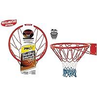 Sport1 Canestro Regolamentare Basket Ring Rosso