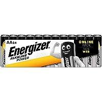 Energizer Piles AA, Alkaline Power, Pack de 24