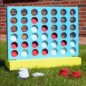 xxl 4 gewinnt jumbo vier in einer reihe freilandspiel spielzeug. Black Bedroom Furniture Sets. Home Design Ideas