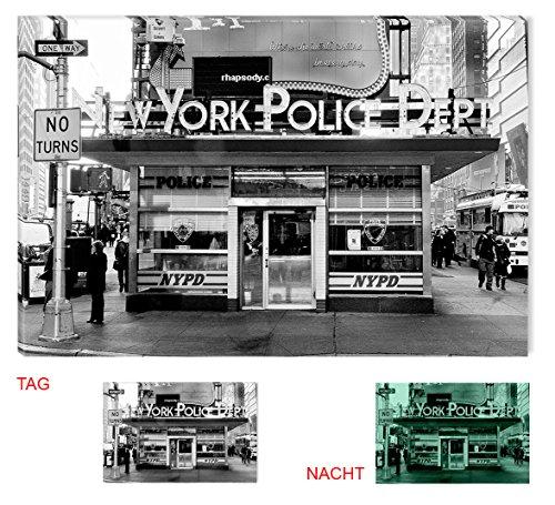 Startonight Leinwand Wand Kunst NYC Mulberry Street 1903, Doppelansicht Überraschung Modernes Dekor Kunstwerk Gerahmte Wand Kunst 100% Ursprüngliche Fertig zum Aufhängen 80 x 120 CM