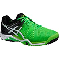 ASICS Gel-Resolution 6 Men's Tennis Shoes, Green/White