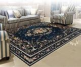 flashing- Mittelmeer pastoral blau Couchtisch Schlafzimmer Teppichstoff nach Hause Wohnzimmertür ( größe : 2000mm*2500mm )