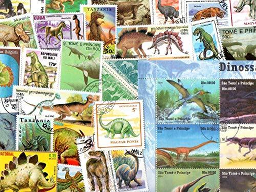 pghstamps Dinosaurier & Urzeittiere 50 Sammlung von verschiedenen Briefmarken für Sammler