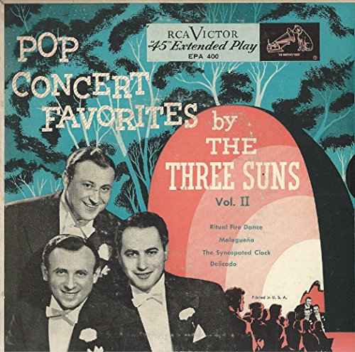 The Three Suns: Pop Concert Favorites Vol. II EP 7