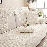 Estilo pastoral La cubierta del sofá,Multi-size acolchado protector de muebles sofá fundas a...