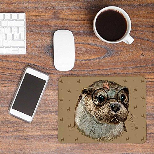 ilka parey wandtattoo-welt® Mousepad Mouse Pad Mauspad Mausunterlage Magie mit Harry Otter - Magie Mitarbeiter