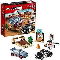 LEGO Juniors 10742 - Rasante Trainingsrunden in der Teufelsscchanze, Disney Autos