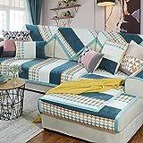 Zzy Jacquard Sofa matten Baumwolle Rutschfeste Sofa Cover Sofa Schild Quilted sectional Sofa Kissen Slip Handtuch Couch abdeckungen Home armlehne Bezug waschbar-1 stück-F 110x160cm(43x63inch)