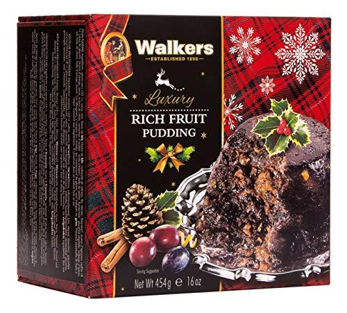 Walkers Shortbread Rich Fruit Pudding 454g (16oz (454g))
