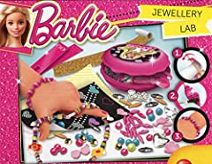 Idea Regalo - Lisciani Giochi 55968 - Barbie Jewellery Workshop
