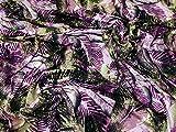 Blätter Print Viskose Stretch Jersey Knit Kleid Stoff