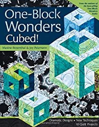 One-Block Wonders Cubed!: Dramatic Designs, New Techniques, 10 Quilt Projects by Maxine Rosenthal (2010-04-16)