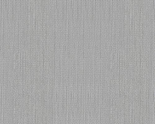 A.S. Création Papiertapete NEW ORLEANS - grau metallic - 10 Meter - 1 Rolle