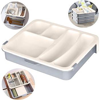 Towinle Schubladen Organizer Set Ordnungssystem für Küche Büro ...