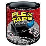 #6: Shopizone Flex Super Strong Rubberized Waterproof Tape (Black)