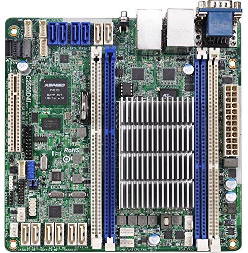 Asrock c2550d4i Mainboard für Server (Server Intel Mini itx-ddr3SDRAM DUAL fbga1283)