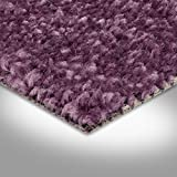 BODENMEISTER BM72182 Teppichboden Auslegware Meterware Hochflor Shaggy Langflor Velour lila pink 400 cm und 500 cm breit, verschiedene Längen, Variante: 3 x 5 m