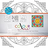 Robert Frederick Mandalas Colour Your Own Canvas, Assorted