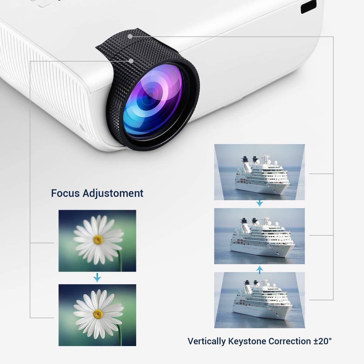 YONTEX Proiettore WiFi 3600 Lumen MiNi Proiettore Portatile