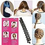 Demarkt DIY Magic Hair Design Styling Tools for Ladies Girls Fashion Hair Twist Styling Bun Maker Black