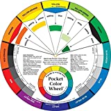 Pocket Colour Wheel 13cm. Compact Paint Mixing Learning Guide. Art Class Teaching Tool. 70404