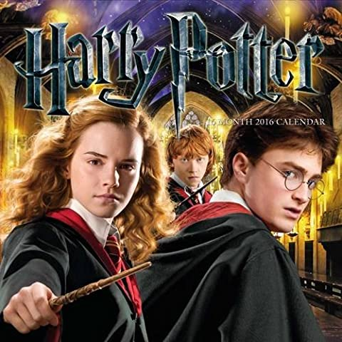 The Official Harry Potter 2016 Square Calendar-