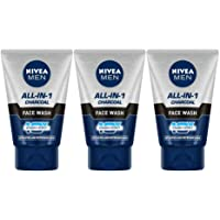 NIVEA Charcoal Face Wash, 100ml (Pack of 3)