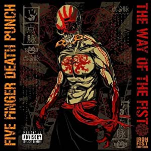 Way of the Fist [DELUXE] (2 CD/DVD) Box set Edition by Five Finger Death Punch (2010) Audio CD