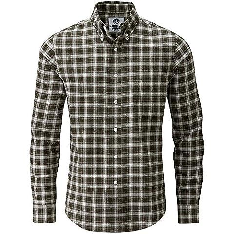 Charles Wilson Long Sleeve Plaid Flannel Shirt (X-Large,