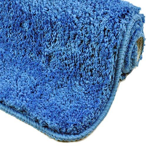 WC-Garnitur Acryl Blau