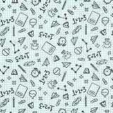 Fabulous Fabrics Baumwollstoff Notebook - Weiss - Meterware