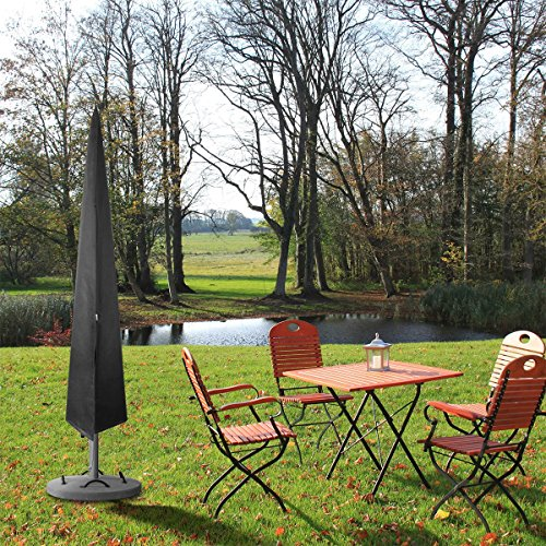 Topsale-ycld Extra Large Waterproof UV Garden Patio Cantilever Parasol Umbrella Zipper Cover -