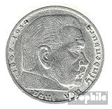 Deutsches Reich Jägernr: 367 1936 A sehr schön Silber 1936 5 Reichsmark Hindenburg (Münzen für Sammler)
