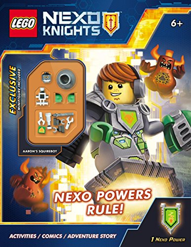 Nexo Powers Rule! [With Mini Figure] Lego