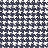 Unbekannt Cretonne Hahnentritt Paule – navy/weiss —