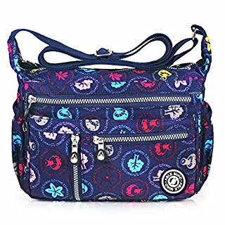 ABLE anti splash water Shoulder Bag Casual Messenger Crossbody Bags (4-multicolor)