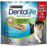 Die besten Purina Hunde-Leckereien - Purina DentaLife Snacks für mittelgroße Hunde, 5er Pack Bewertungen