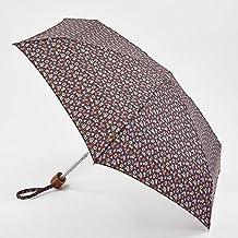 Paraguas Cath Kidston pequeño, blanco con diseño floral