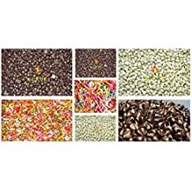 Leeve Dry Fruits All in One Chocolate Assortment, Dark, White, Twins and Rainbow Vermicelli, 200g