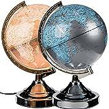 (283) Globus lámpara Touch ánimo lámpara de globo terráqueo Tierra Luz Decorativa