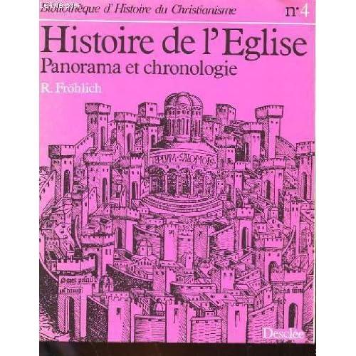 Histoire de l'eglise - panorama et chronologie.