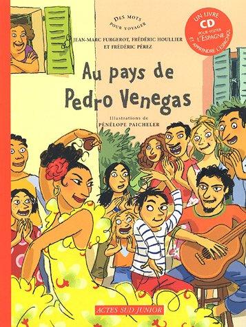 Au pays de Pedro Venegas (1CD audio) par Jean-Marc Furgerot