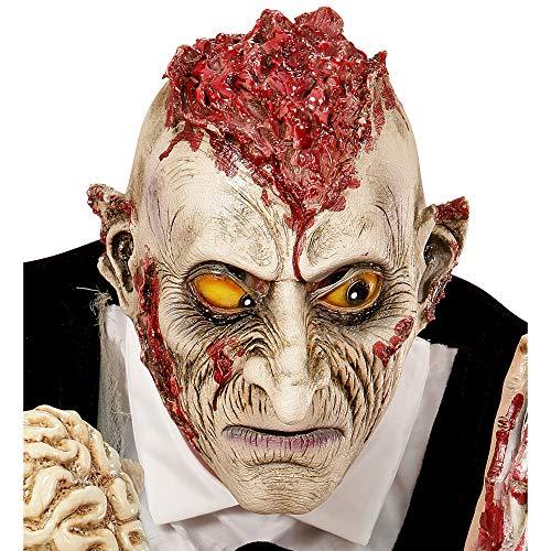 Widmann 00402 - Maske Wahnsinniger Zombie für Kinder (Kinder-opfer Auf Halloween)