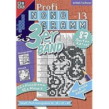 Profi-Nonogramm 3er-Band Nr. 13 (Pic-a-Pix / Logik-Rätsel)
