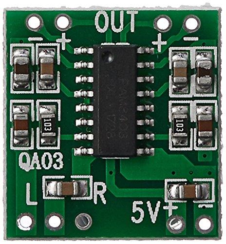 KTC CONS Labs 2 Pcs PAM8403 2x3W Class D Digital Audio Amplifier Module 5V USB Power (2 Pieces)